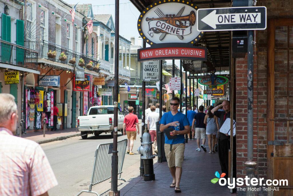 Bourbon Street, French Quarter