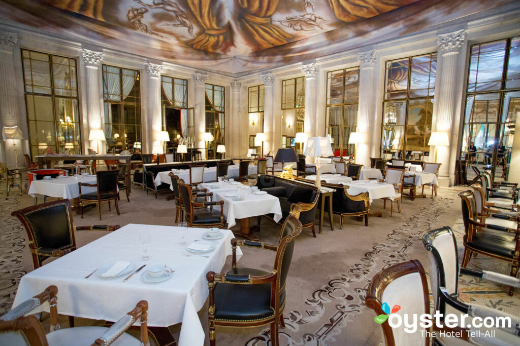 Le Meurice Breakfast Room At Le Meurice Oyster Com Hotel