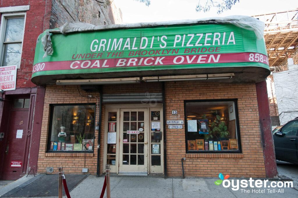 Grimaldi's Pizzeria, Brooklyn/Oyster