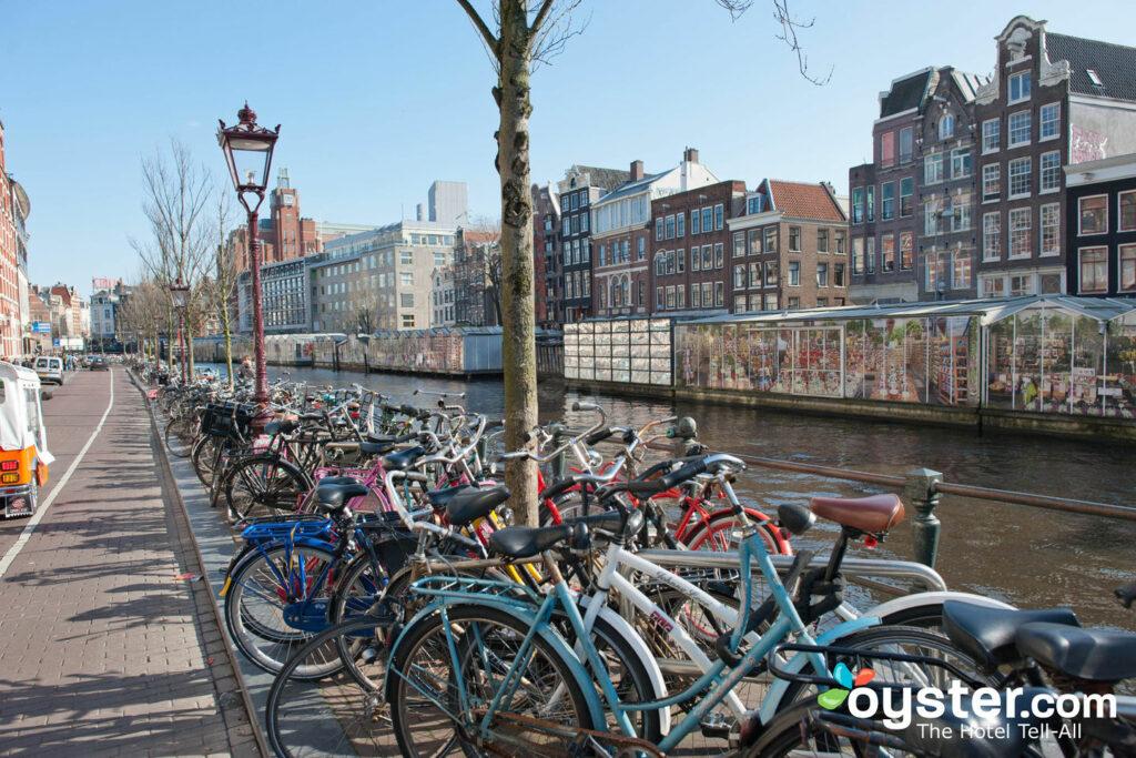 Anel do Canal em Amsterdã