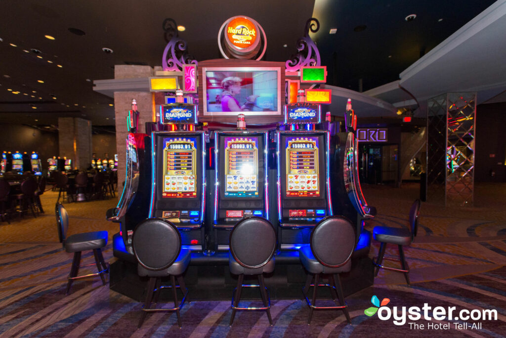 Casino at Hard Rock Hotel & Casino Punta Cana/Oyster