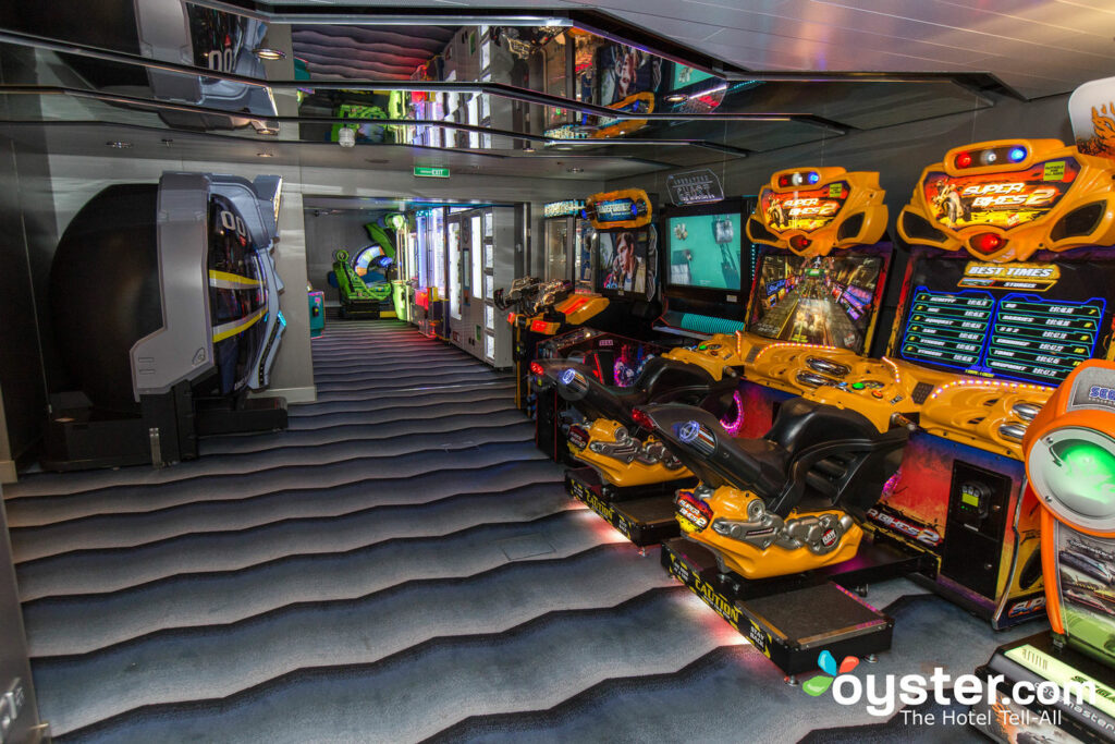 Challengers Arcade on Anthem of the Seas/Oyster