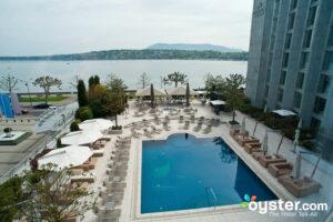 Pool at Hotel President Wilson