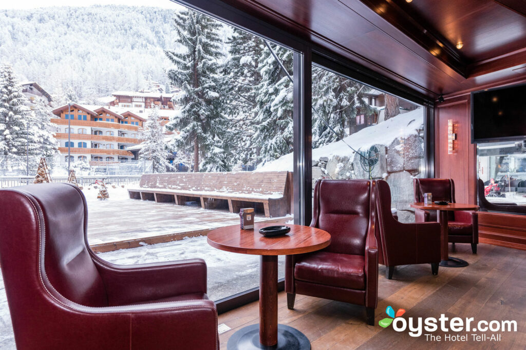Cigar Lounge à l'hôtel Alpenhof, Zermatt / Oyster