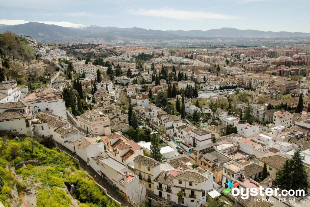 Vue de l'hôtel Alhambra Palace, Granada / Oyster