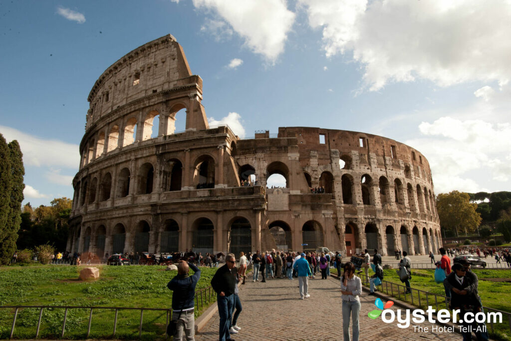 Colosseum, Rome/Oyster