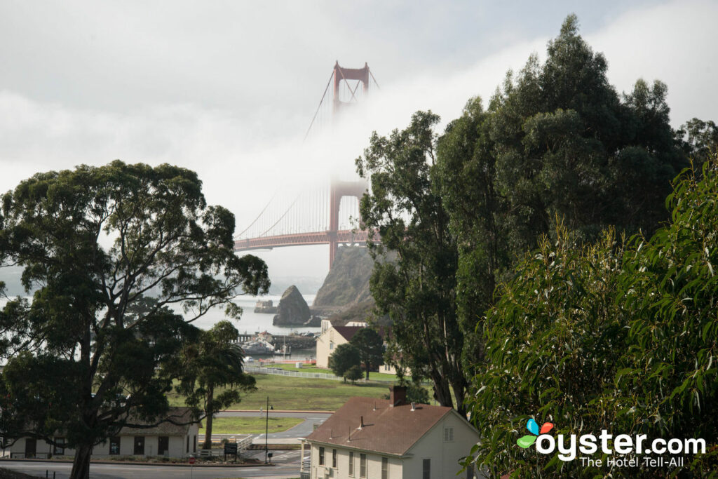 Vista desde Cavallo Point.