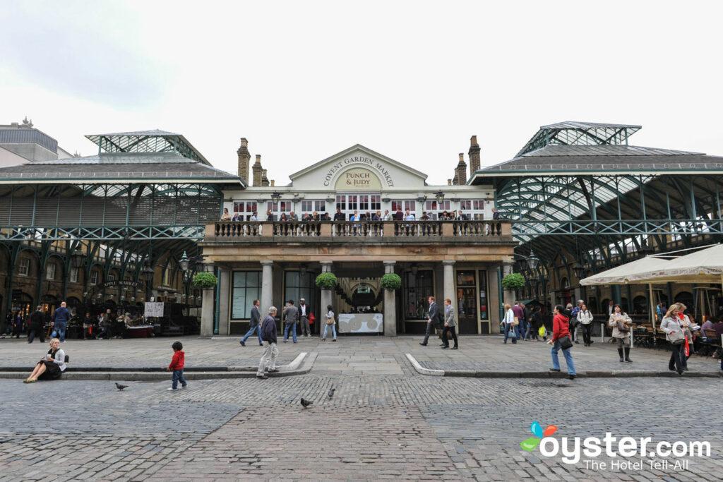 Covent Garden's Jubilee Market