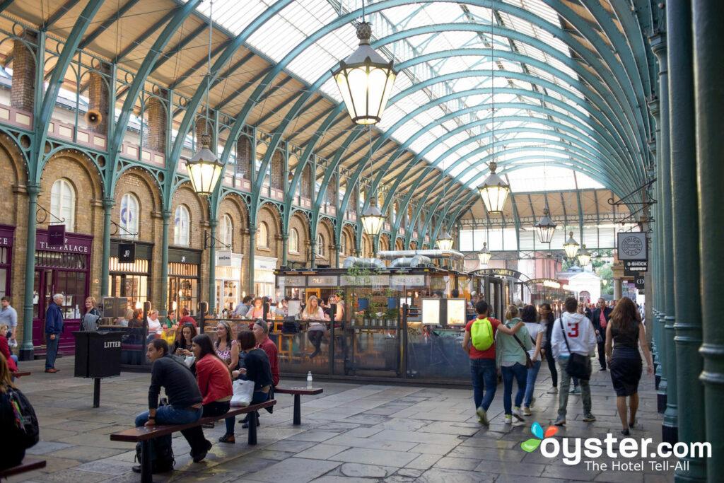 The market atCovent Gardenin London