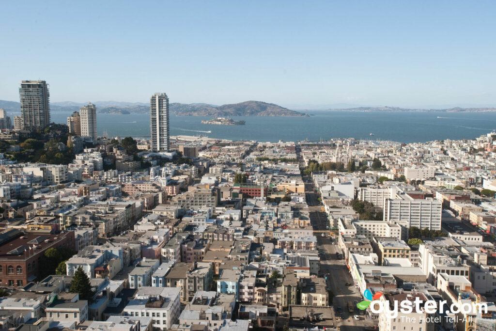 Vista panorâmica do The Fairmont San Francisco.