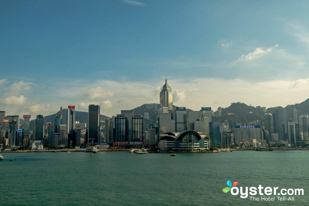 La suite de luxe de l'InterContinental Hong Kong / Oyster