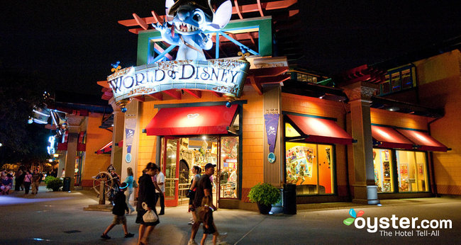 Downtown Disney in Disney World, Orlando
