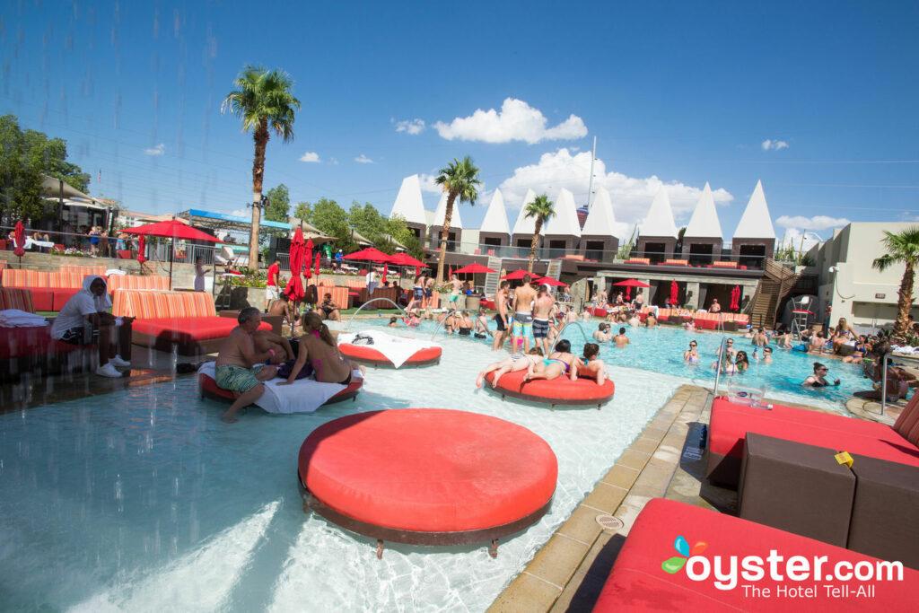 Pool at The Palms Casino Resort, Las Vegas, Nevada