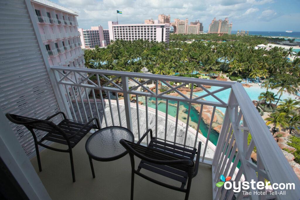 The view from the Atlantis Beach Tower at the Atlantis Bahamas.