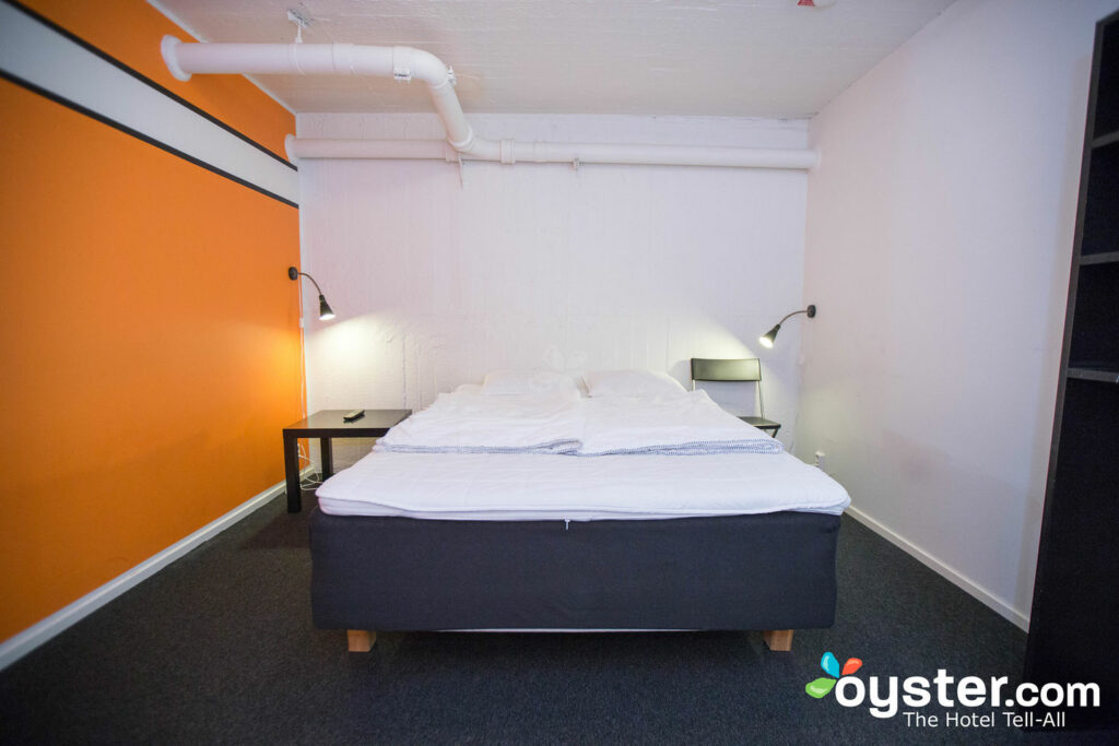 The Double Room at the Stockholm Hostel