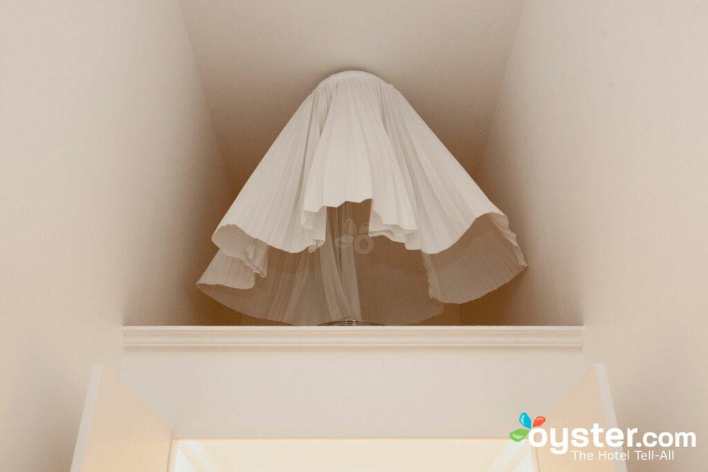 La jupe Marilyn dans la chambre double supérieure du Kunsthotel Arte Luise