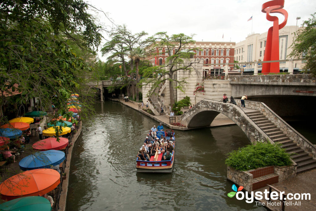 Riverwalk en San Antonio.