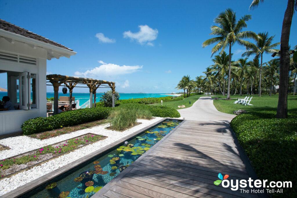 The Grounds at The Ocean Club on Paradise Island, Bahamas.