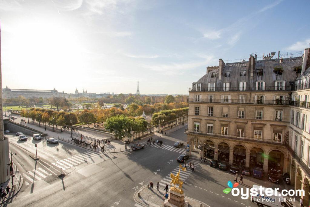 Eiffelturm-Suite im Hotel Regina Louvre / Oyster