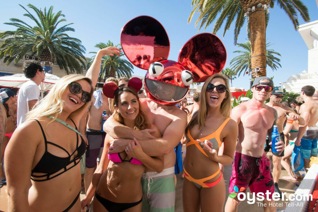 Encore Beach Club em  Encore no Wynn Las Vegas  /Ostra