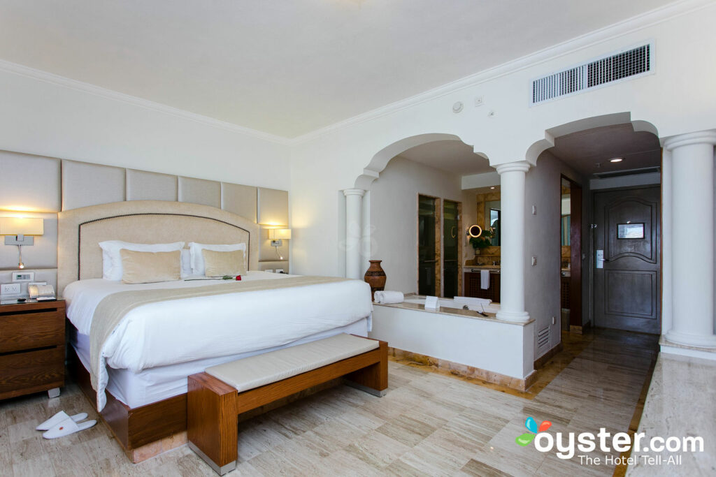 Room at the Excellence Riviera Cancun