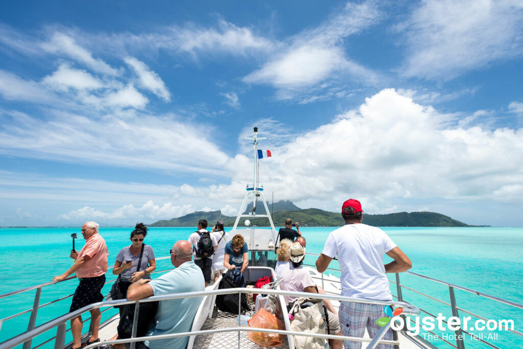 Ferry from Bora Bora Airport to Mainland/Oyster