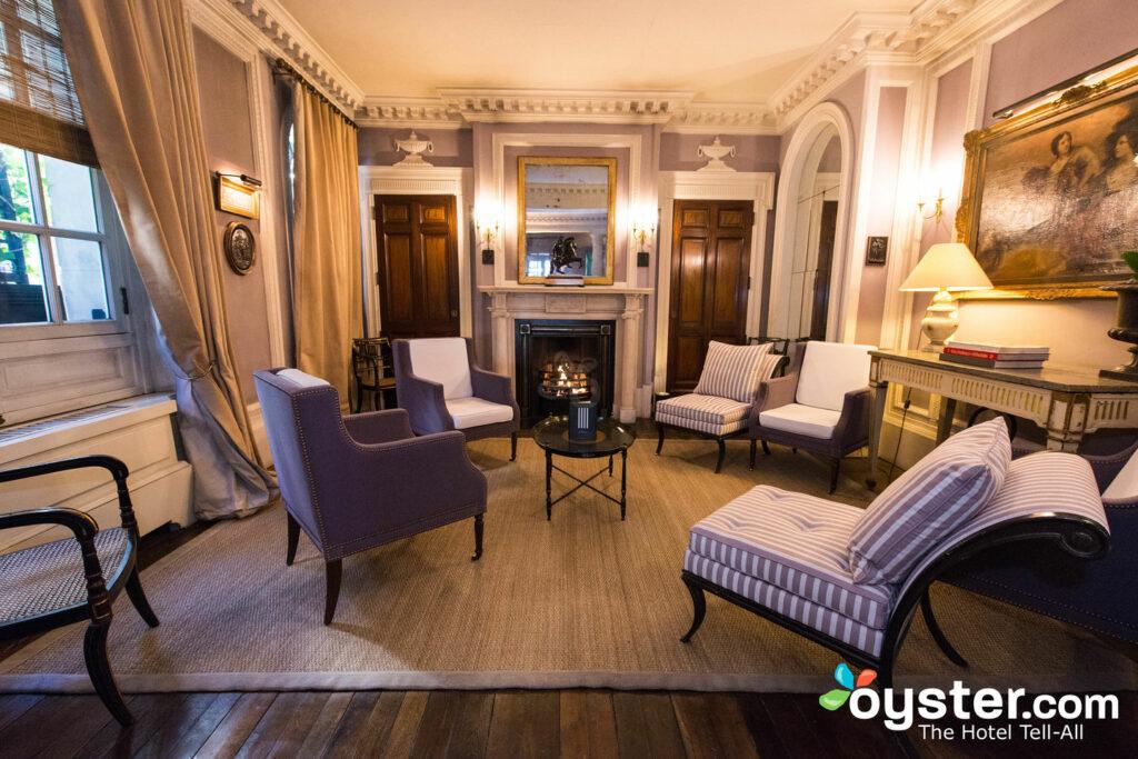 Lobby Lounge no Le Dokhan's, um tributo Portfolio Hotel / Oyster