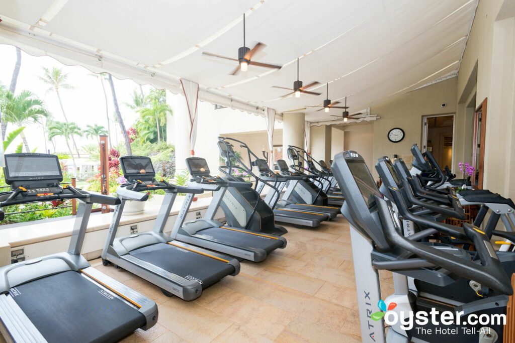 Fitness Center at the Four Seasons Resort Maui at Wailea