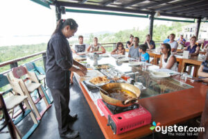 Free demonstration cooking class in Thailand