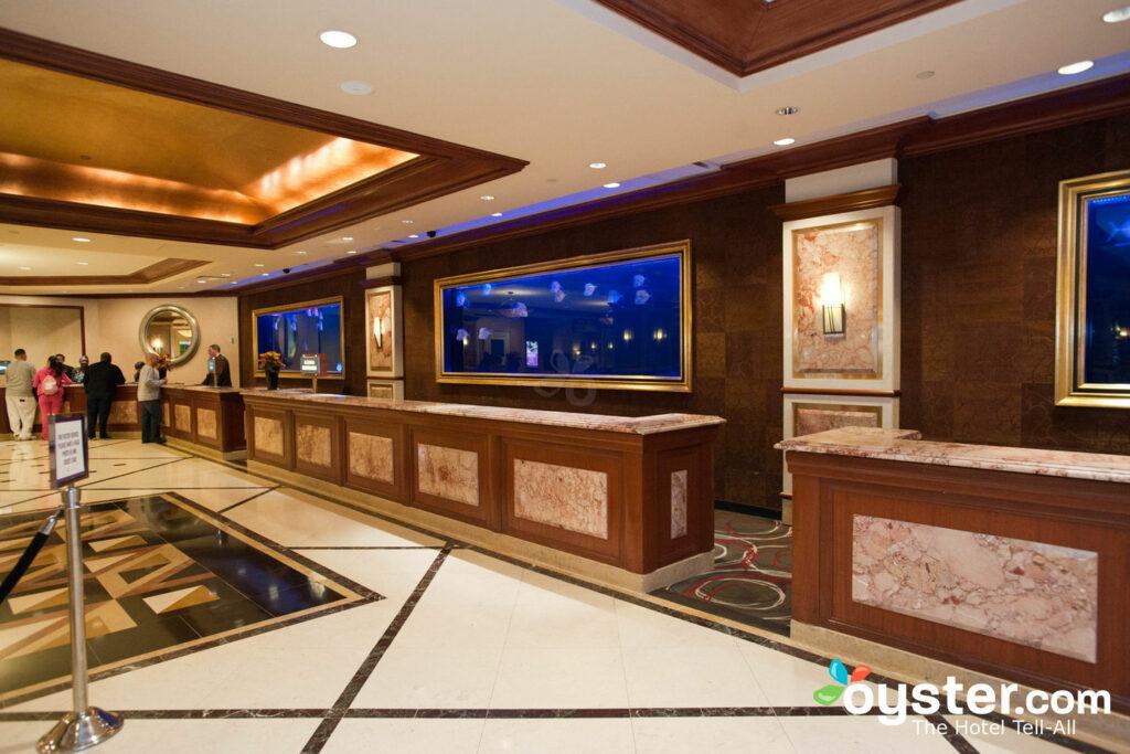 Lobby at Harrah's Atlantic City Resort