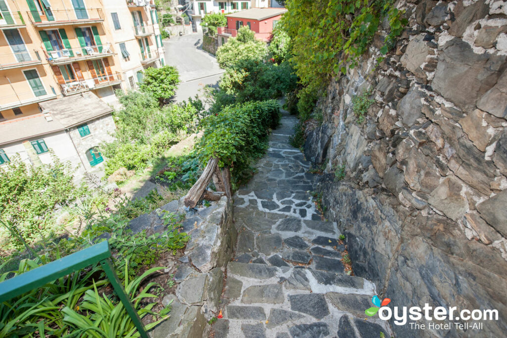 Garden at La Torretta, Cinque Terre/Oyster