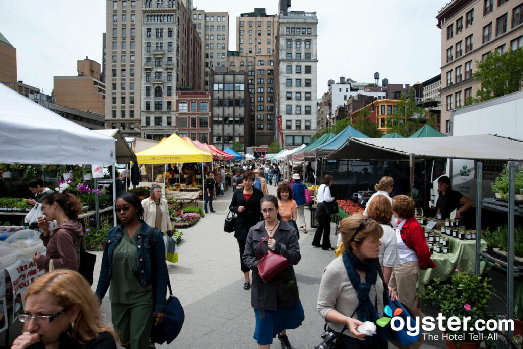 Union Square Farmers Market/Oyster