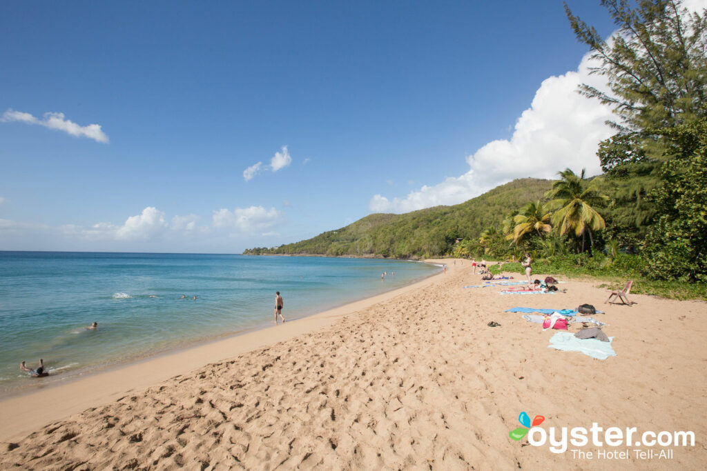 Grande Anse Beach de Guadalupe