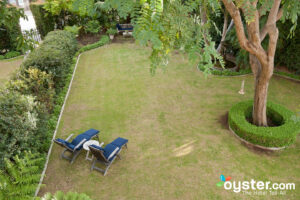 Grounds at Simpson House Inn in Santa Barbara