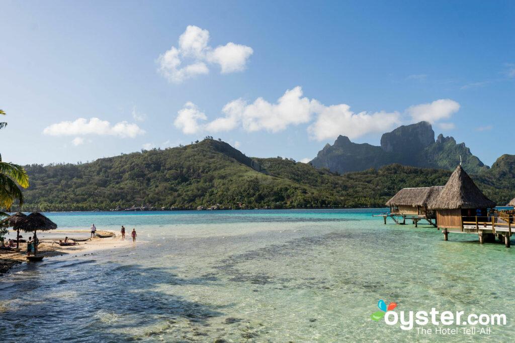 Jardines en Sofitel Bora Bora Private Island / Oyster