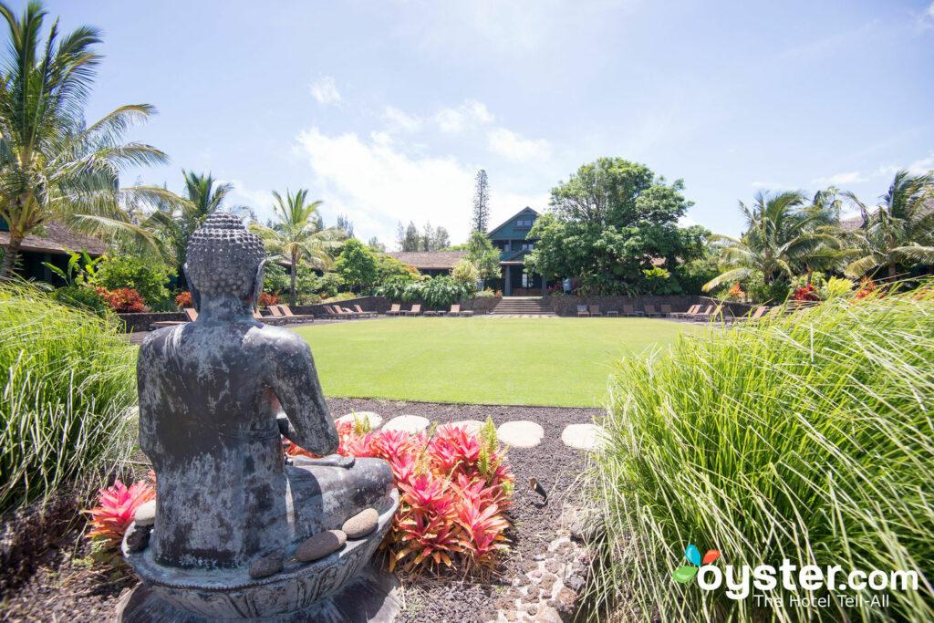 Grounds at Lumeria Maui Retreat