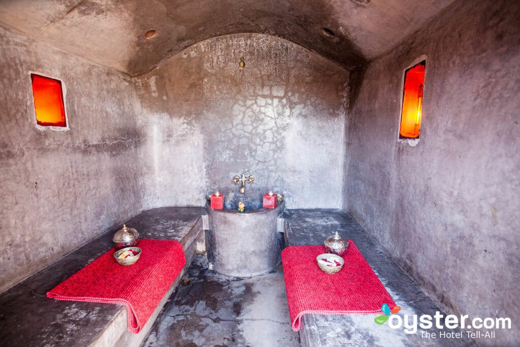 Hammam at the Riad Miski
