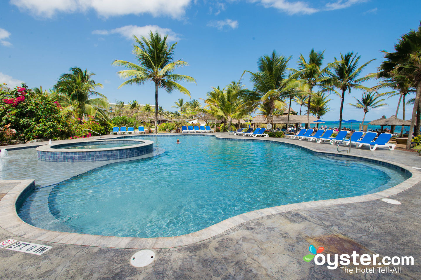 Coconut Bay Beach Resort  Spa  The Splash Pool at the