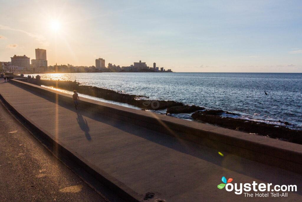 Malecón, Havanna / Auster