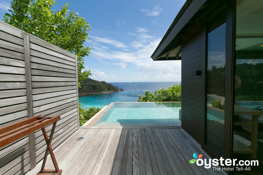 The Hilltop Ocean View Villa en el Four Seasons Resort Seychelles