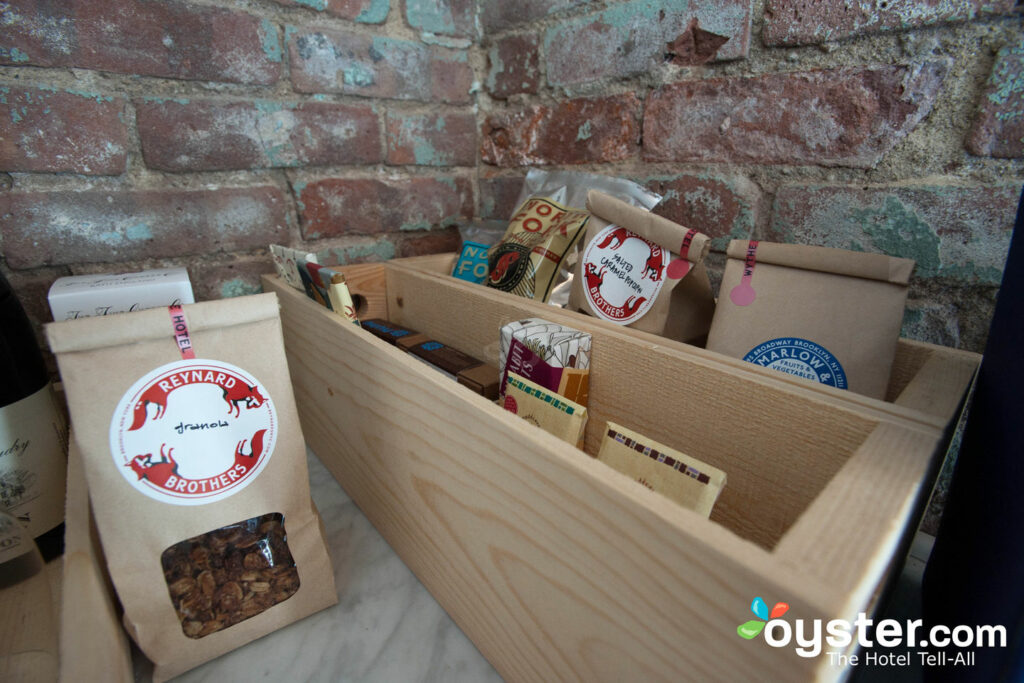 The Wythe's Locavore Take on the Minibar