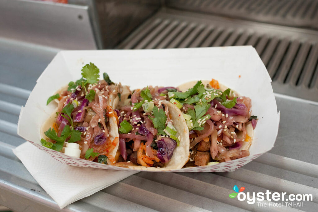 Bull Kogi Korean Taco Truck, Hollywood, Los Angeles/Oyster