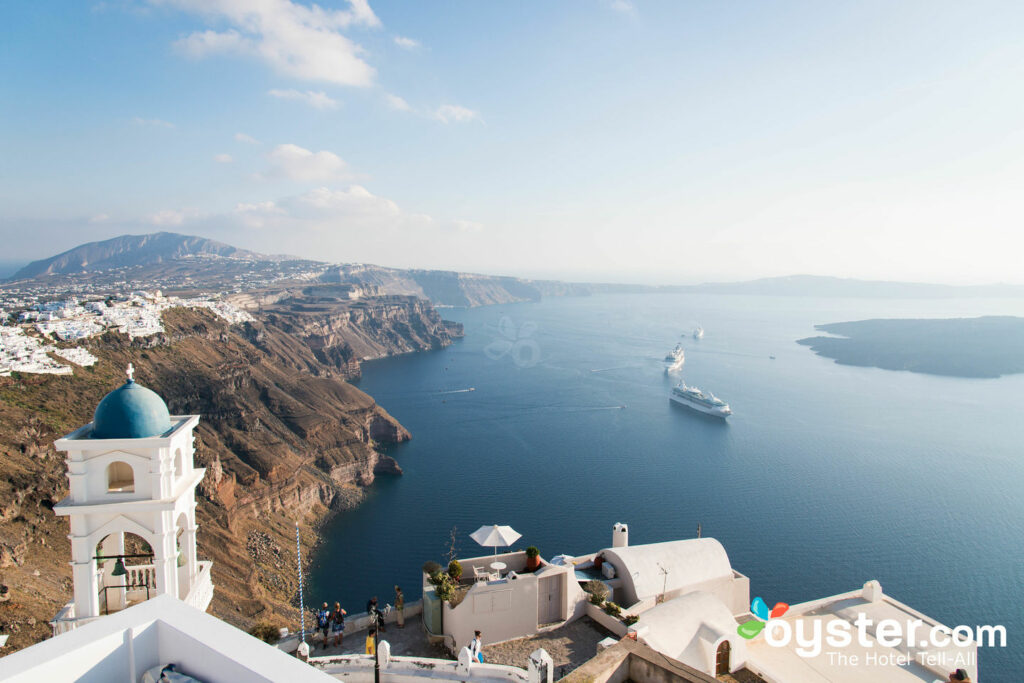 View from Altana Traditional Houses, Santorini/Oyster