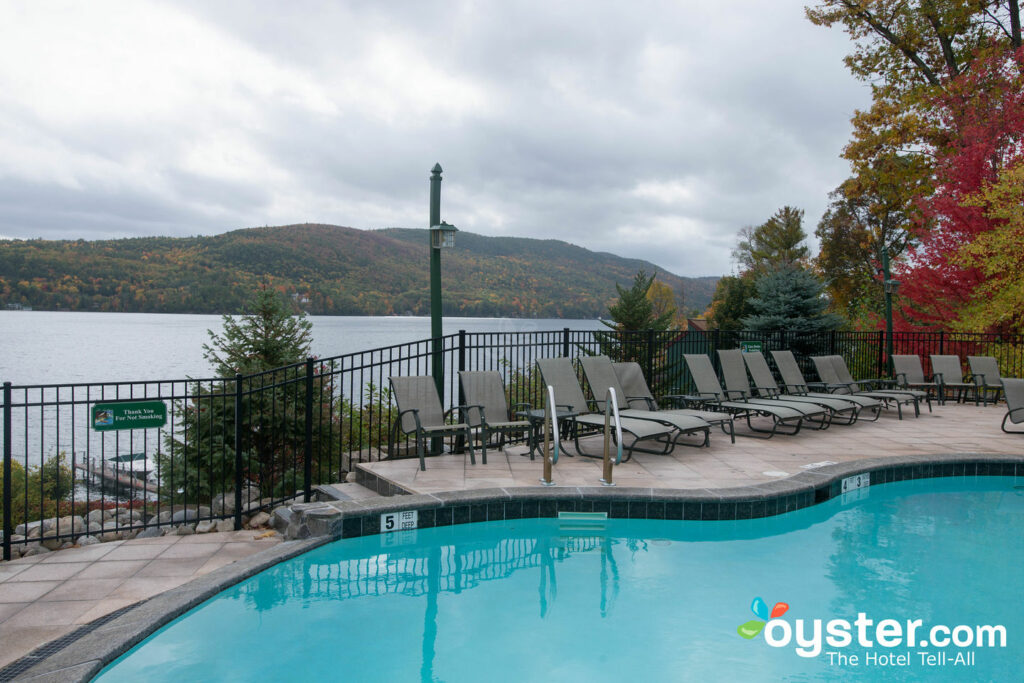 View from the Pool at Lodges at Cresthaven