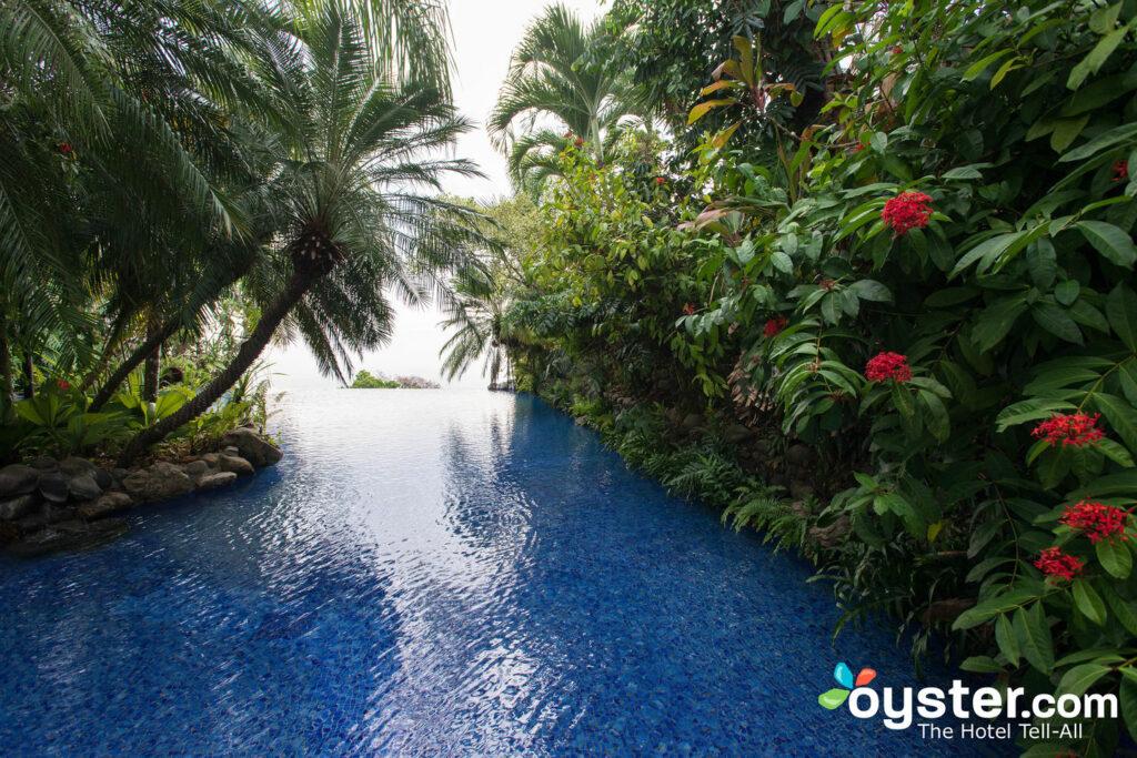 Infinity-Pool in der Villa Caletas / Oyster