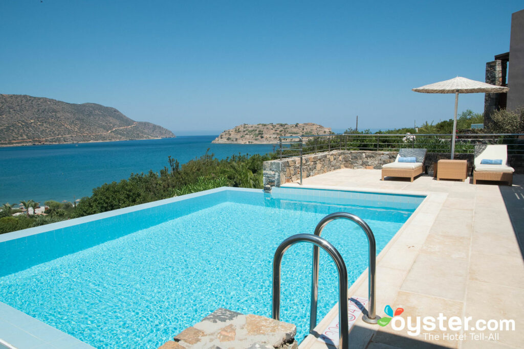 Pool at Blue Palace, a Luxury Collection Resort & Spa, near Elounda