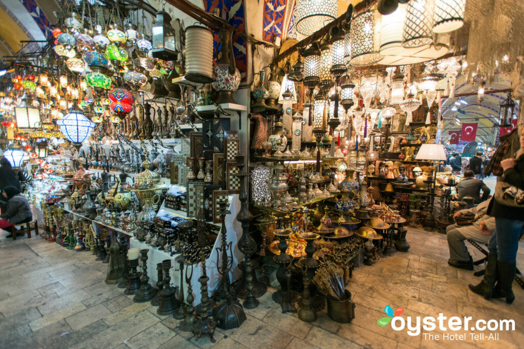 Grande Bazar em Istambul