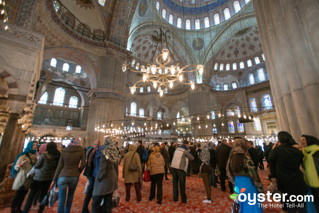 Blue Mosque, Istanbul/Oyster