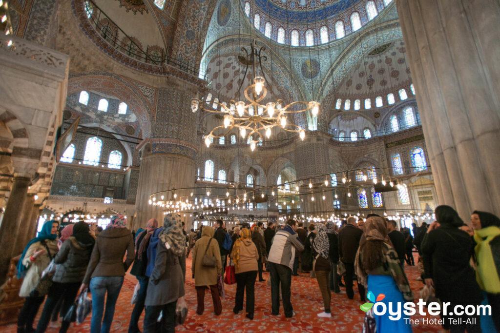 Mosquée Bleue, Istanbul / Huître