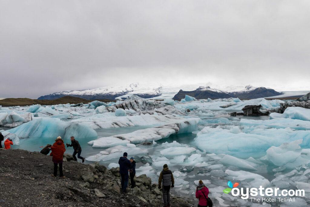 Jokulsarlon Glacier Lagoon/Oyster